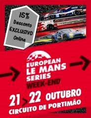 European Le Mans Series - Bilhete 2 Dias