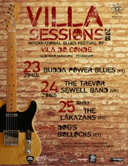 Villa Sessions 2018 - Internacional Blues Festival of Vila do Conde 2