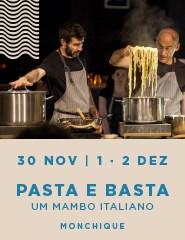 PASTA E BASTA - Um Mambo Italiano - MONCHIQUE