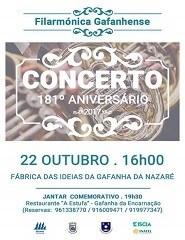 181º aniversário Filarmónica Gafanhense
