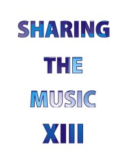 XIII Sharing The Music
