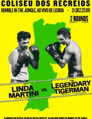 RUMBLE IN THE JUNGLE - LINDA MARTINI + THE LEGENDARY TIGERMAN