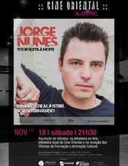 Jorge Nunes - Tour Sexta à Noite