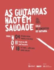 Tó Trips + João Doce e Jorge Coelho -  As Guitarras Não Têm Saudade