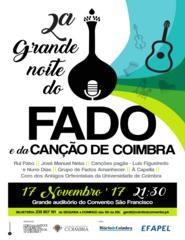 2.ª Grande Noite do Fado e da Canção de Coimbra