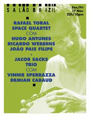 Rafael Toral Space Quartet + Jacob Sacks Trio