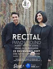 Raúl da Costa e Rimma Benyumova - Recital de Piano e Violino