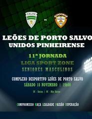 Leões de Porto Salvo x Pinheirense