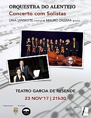 Orquestra do Alentejo - Concerto com Solistas