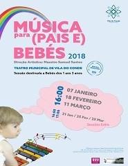Música para (Pais e) Bebés - Sessão Extra - 21.01