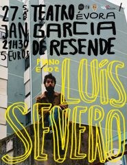 Luís Severo, piano e voz