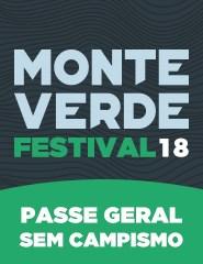 Monte Verde Festival 2018 - Passe Geral sem Campismo