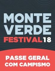 Monte Verde Festival 2018 - Passe Geral com Campismo
