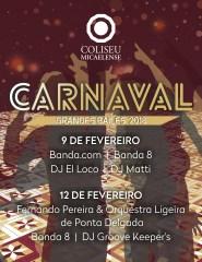 Grande Baile de Carnaval Segunda-feira 2018