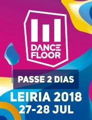 Dancefloor 2018 - Passe 2 Dias