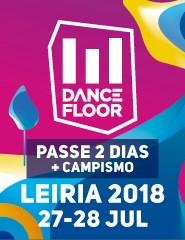 Dancefloor 2018 - Passe 2 Dias + Campismo