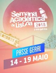 Semana Académica de Lisboa 2018 - Passe Geral