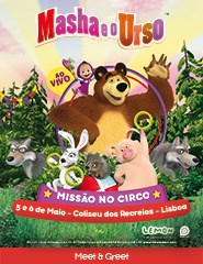 MASHA E O URSO - MEET & GREET