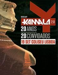DEEJAY KAMALA 2.0 - 20 ANOS