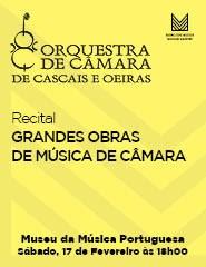 Recital OCCO – GRANDES OBRAS DE MÚSICA DE CÂMARA