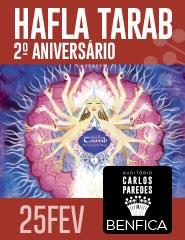 HAFLA TARAB – 2.º ANIVERSÁRIO