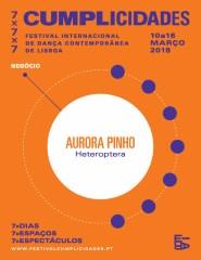 """""""Heteroptera"""" de Aurora Pinho - Cumplicidades '18"""