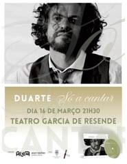 """DUARTE """"SÓ A Cantar"""""""