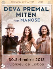 DEVA PREMAL & MITEN WITH MANOSE - THE SOUL OF MANTRA - LIVE!
