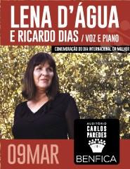 LENA D'ÁGUA e Ricardo Dias (Voz e Piano)