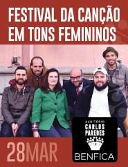 LXTunes apresenta FESTIVAL DA CANÇÃO EM TONS FEMININOS