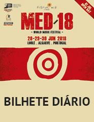 Festival MED 2018 - Bilhete Diário