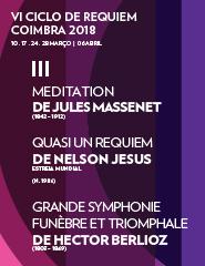III Concerto - VI Ciclo de Requiem - Coimbra 2018