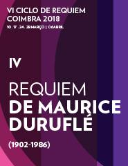 IV Concerto - VI Ciclo de Requiem - Coimbra 2018