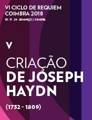 V CONCERTO: CRIAÇÃO DE JOSEPH HAYDN (VI CICLO DE REQUIEM)