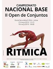 Campeonato Nacional Base e II Open Conjuntos - Ginástica Rítmica