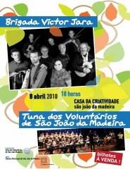 Brigada Vítor Jara + Tuna dos Voluntários de SJM