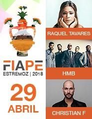 FIAPE 2018 - Dia 29 ABR - Raquel Tavares, HMB,  Christian F