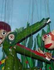 Ciclo de Teatro de Marionetas: CROKORÓCÓDILO - Algazarra Teatro