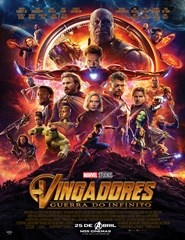 Vingadores:Guerra do Infinito 3D