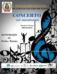 Concerto 118º Aniv. Banda B.V. Ílhavo/Música Nova