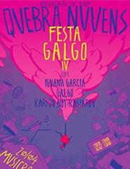 Festa Galgo IV com Iguana Garcia, Galgo e Karpov not Kasparov