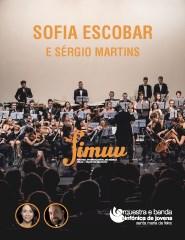 Sofia Escobar, Sérgio Martins com OSJSMF