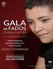 """Gala de Fados - """"Memorial Eliana Castro"""""""