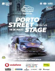 PORTO STREET STAGE - VODAFONE RALLY DE PORTUGAL 2018