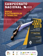 Campeonato Nacional Duplo Minitrampolim e Tumbling