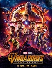 Cinema | VINGADORES: GUERRA DO INFINITO