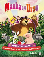 Masha e o Urso - Missão no Circo (Leiria)