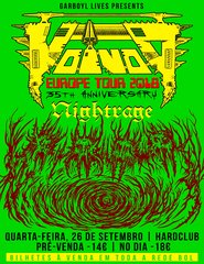 VOIVOD 35th Anniversary Tour
