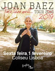 JOAN BAEZ - FARE THEE WELL TOUR 2019
