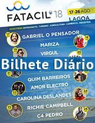 FATACIL'18 | Bilhete Diário